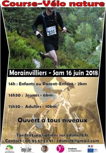 Course-Vélo nature @ Morainvilliers