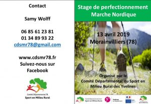 Perfectionnement Marche Nordique @ Maison des associations